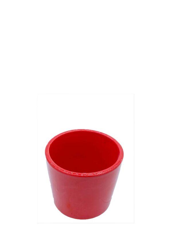 55 kırmızı porselen